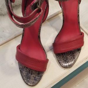 Rio Red Multisnake Heels